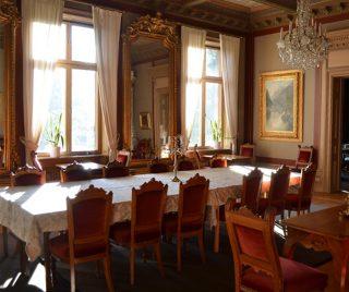 Hedbergska paradvåning, matsalen.