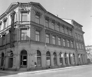 Rosenbaums Herrekipering på Sjögatan.